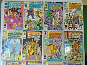 Squadron Supreme Lot From (1st, 2nd + Mini Series) 30 Different 8.0/VF