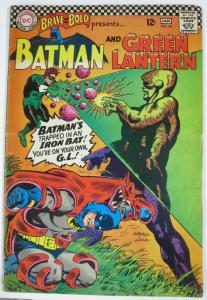 BRAVE AND THE BOLD #69 (DC) January, 1967 VERY GOOD Batman/Green Lantern