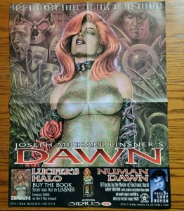 22 x 17 Joseph Michael Linsner's DAWN Sexxy Promo Poster NO PIN HOLES NEW