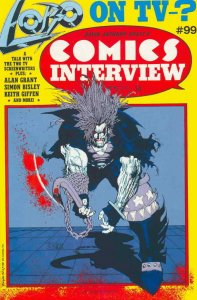 Comics Interview #99 VG; Fictioneer   low grade comic - save on shipping - detai