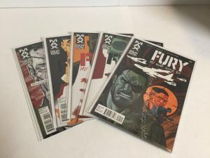 Fury My War Gone 9-13 Lot Set Run Nm Near Mint Marvel Comics A10