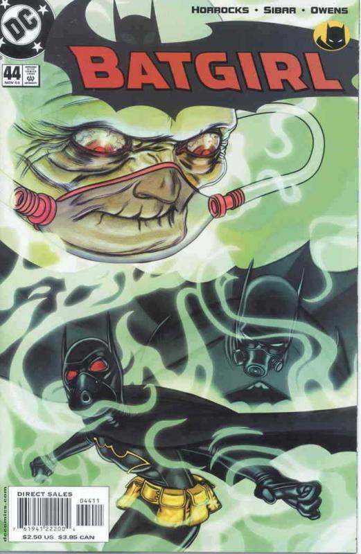 Batgirl #44 VF; DC | save on shipping - details inside