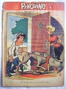 Revista El Pinguino Comic Numero 4 Humor colección vintage