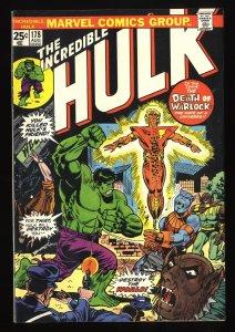Incredible Hulk (1968) #178 FN+ 6.5 Marvel Comics