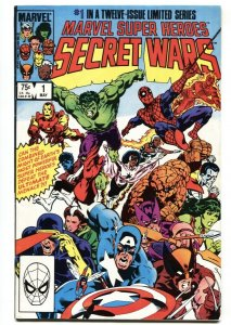 MARVEL SUPER HEROES SECRET WARS #1 - comic book 1984 SPIDER MAN VF-