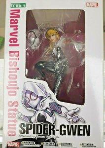 Spider-Gwen Bishoujo 9 Statue - Marvel - Kotobukiya - Spider-verse - NEW