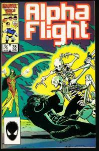 ALPHA FLIGHT #35-MARVEL COMICS-MUTANTS! NM