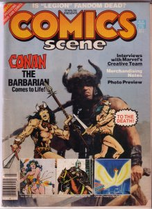 Starlog Presents Comics Scene   # 4 GD