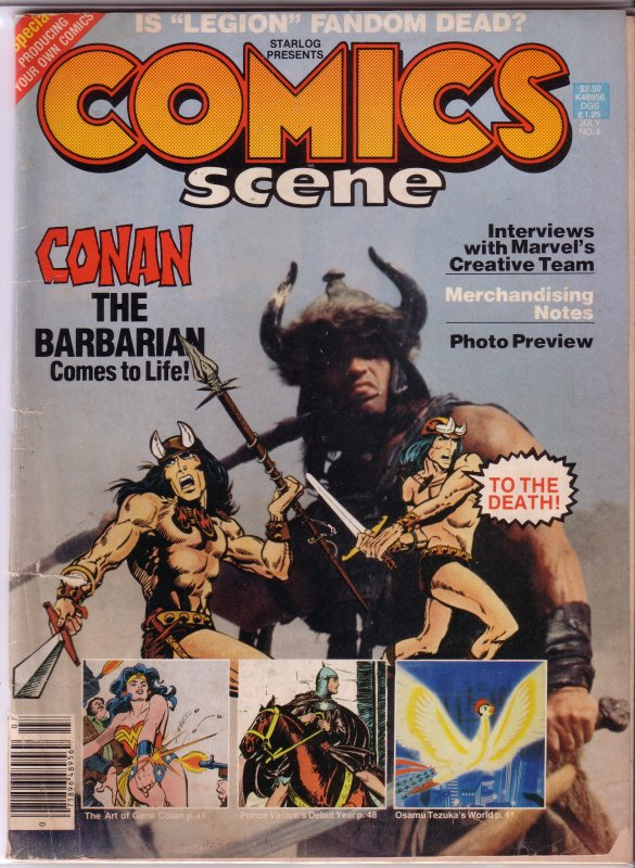 Starlog Presents Comics Scene   # 4 GD