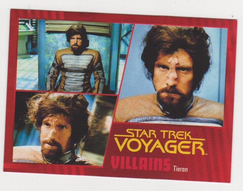 2015 Star Trek Voyager Heroes & Villains Gold Parallel #31 Tieran