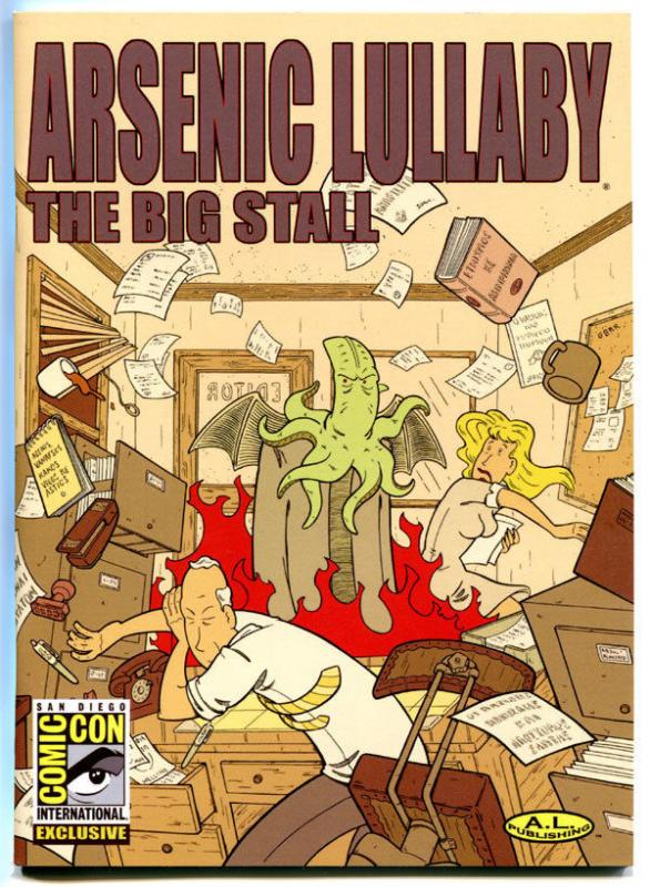 ARSENIC LULLABY - The BIG STALL, NM, Limited ashcan SDCC  Doug Paszkiewicz, #304