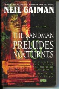 Sandman: Preludes & Nocturnes-Neil Gaiman-Vol 1-1991-PB-VG/FN