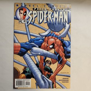 Peter Parker Spider-Man 41 Near Mint Cover by Humberto Ramos