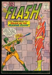 FLASH #126 1962-DC COMICS-BAZOOKA COVER-MIRROR MASTER FN