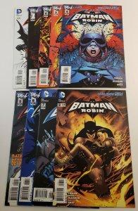 Batman & Robin (New 52) Run #0-8 Complete Set High Grade Average VF/M  DC
