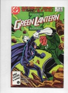 GREEN LANTERN #206, VF/NM,  Joe Staton, Corps, DC, 1960 1986 Kilowog vs Black H