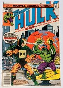 The Incredible Hulk #204 (Oct 1976, Marvel) VF+ 8.5 Jarella appearance