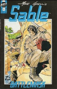 Sable (Mike Grell's…) #4 VF; First | save on shipping - details inside