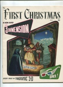 FIRST CHRISTMAS 1953-FICTION HOUSE-KELLY FREAS-VF+
