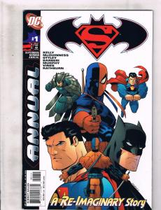 Lot Of 7 Batman Superman DC Comic Books # 27 28 29 30 + Annual # 1 2 3 Joker RC6