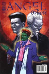 Angel: Old Friends #5B VF/NM; IDW | save on shipping - details inside