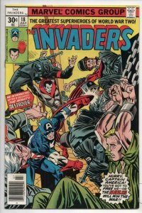 INVADERS #18, VF, Captain America, Human Torch, 1975 1977, more in store