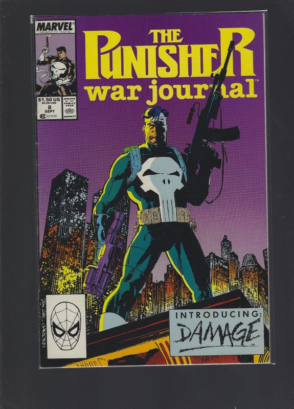 The Punisher War Journal #8 (1989)