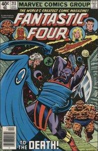 Marvel FANTASTIC FOUR (1961 Series) #213 FN+