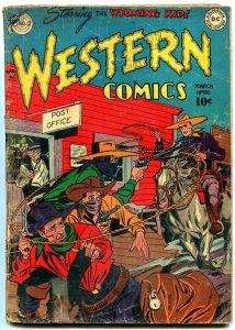 Western Comics #2 1948- DC Golden Age- Wyoming Kid- Vigilante G-