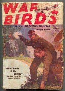 War Birds Pulp December 24 1928- Phantom Zeppelin VG