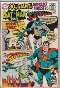 World's Finest #179 (Nov-68) VF High-Grade Superman, Batman, Robin