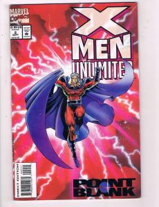 X-Men Unlimited # 2 VF/NM Marvel Comic Books Wolverine Beast Gambit Magneto SW14