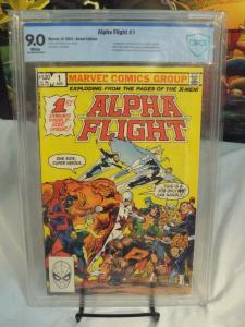 Alpha Flight #1 (1983) - CBCS 9.0 - 1st App. Puck, Marrina & Tundra