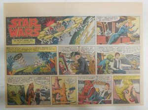 Star Wars Sunday Page #44 by Russ Manning from 1/6/1980 Large Half Page Size!