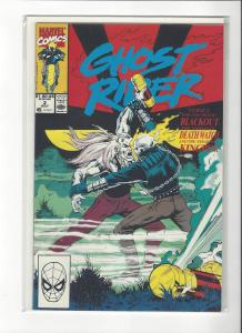Ghost Rider Vol 2(1990) #3  Vs Blackout NM