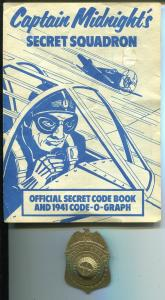 Captain Midnight Secret Squadron Membership Badge 1976-reproduction-manual-FN