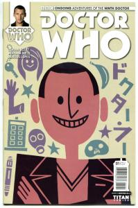 DOCTOR WHO #1 D, NM, 9th, Tardis, 2016, Titan, 1st, more DW in store, Sci-fi