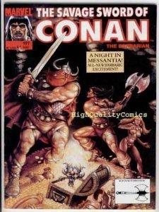 SAVAGE SWORD of CONAN #197, VF/NM, Kull , Ovi, Ernie Chan, more SSOC in store