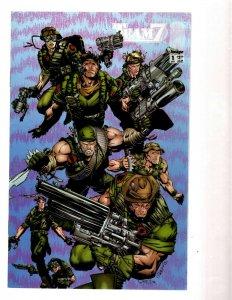 11 Marvel Comics Team 7 # 1 2 3 4 4 Dead Reckoning # 1 2 4 Hell # 1 2 3 EK20