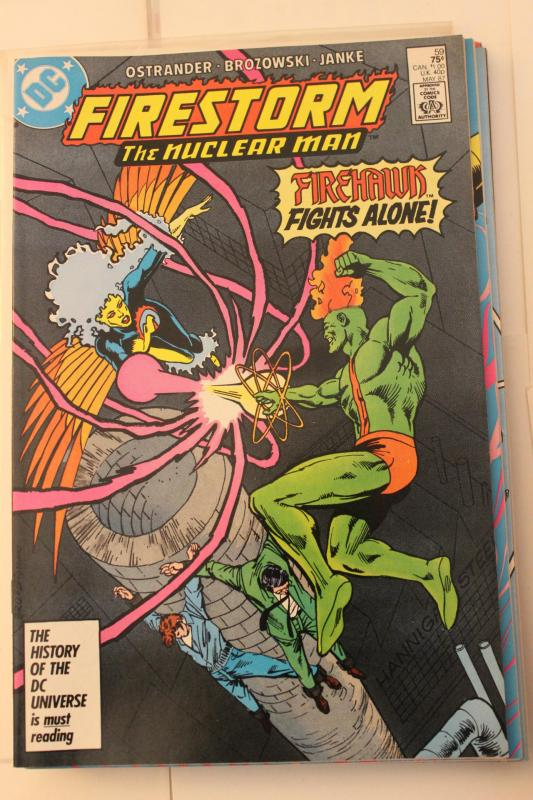 The Fury of Firestorm  #59 9-0-vf-nm