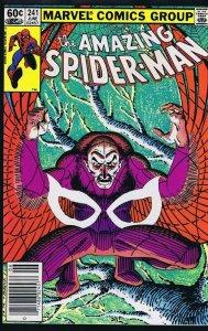 Amazing Spider-Man #241 ORIGINAL Vintage 1983 Marvel Comics Vulture Newsstand