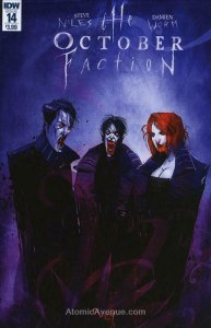 October Faction, The #14 FN; IDW   save on shipping - details inside
