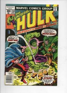 HULK #210, VF+, Incredible, Bruce Banner, Druid, 1968 1977, Marvel
