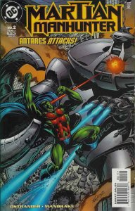 Martian Manhunter #2 VF/NM; DC | save on shipping - details inside