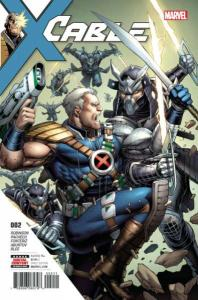 Cable (2017 series) #2, NM + (Stock photo)