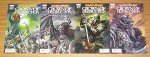 Warhammer: Crown of Destruction #1-4 VF/NM complete series - A variants set 2 3