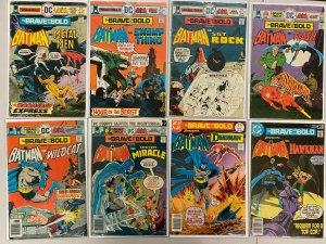 Brave Bold lot #121-199 1st Series all 38 different books range avg 5 (1975-'83)