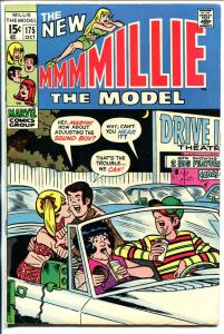 Millie The Model #175 1969-Chili-drive in movie-fashion page-VF