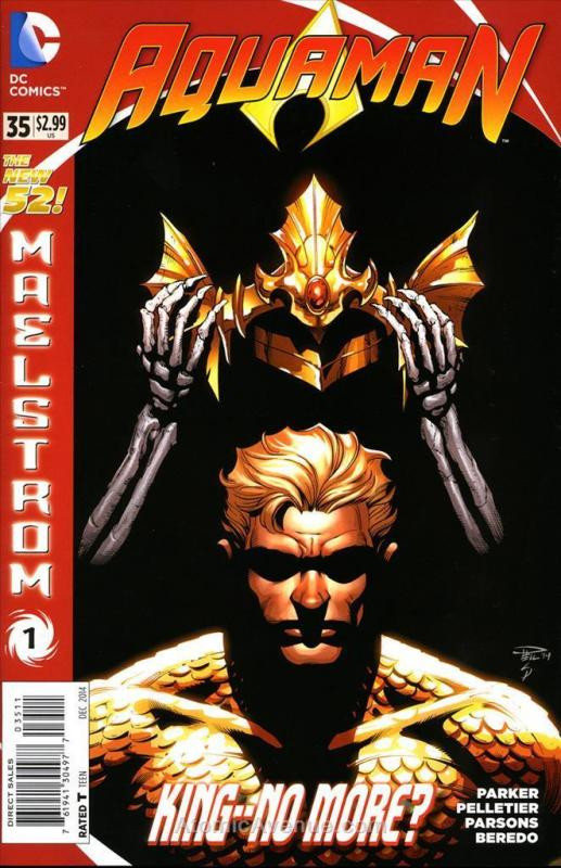 Aquaman (7th Series) #35 VF/NM; DC | save on shipping - details inside