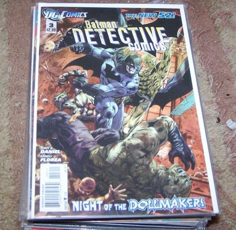 Detective Comics # 3 (January 2012, DC) batman new 52 dollmaker